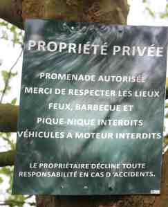propriete privée