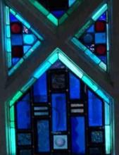a vitraux bleus det